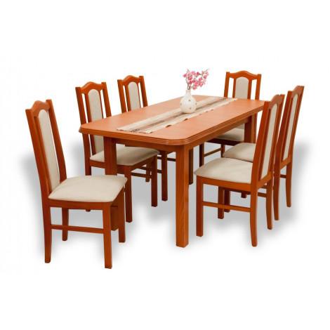 3 személyes étkező asztal székekkel