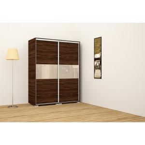 Bourbon tölgy korpusz, beige ajtóbetéttel, 160 cm