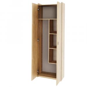 Kombinált szekrény, DTD laminált, sonoma tölgyfa, NATALI TIP 6
