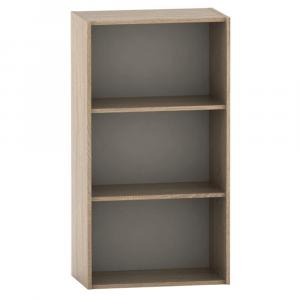 Polcos szekrény, tölgy sonoma, TEMPO ASISTENT NEW 035