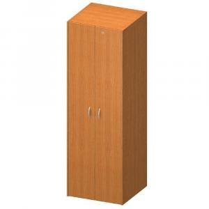 Akasztós szekrény lakattal, cseresznye, TEMPO ASISTENT NEW 005