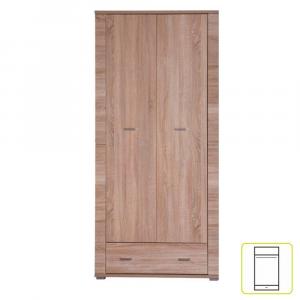 Tükrös szekrény typ 2, sonoma tölgy, GRAND