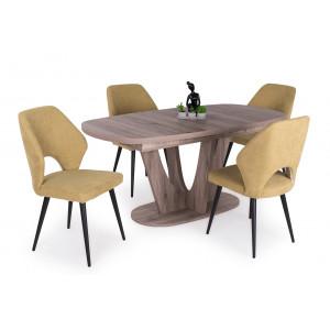 San remo asztal + zöld szék
