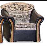 Rió fotel - fekete