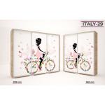 Italy 29. Kerékpáros lány