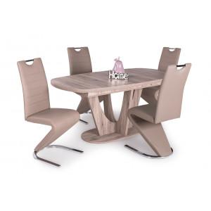 San remo asztal + beige szék