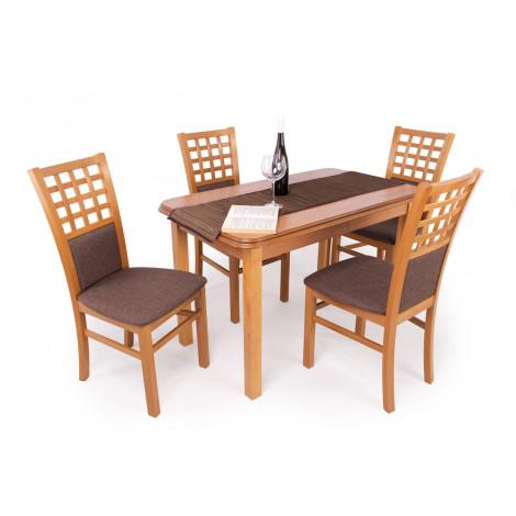 Éger asztal + éger szék