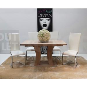 San remo asztal + fehér szék