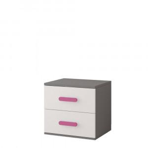 Szürke - rózsaszín fogantyú