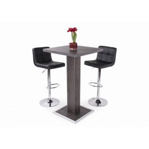 Canterbury asztal + fekete szék