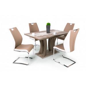 San remo asztal - Beige szék