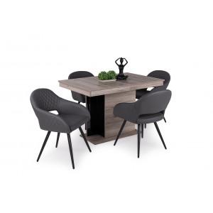 San remo asztal + szürke szék