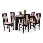 Wenge asztal + wenge szék