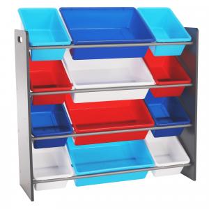 Rendszerező játékokhoz, sokszínű/szürke, KIDO TYP 1