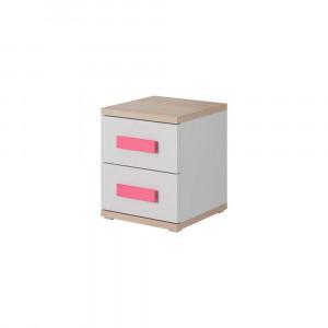 Fehér - sonoma tölgy - rózsaszín