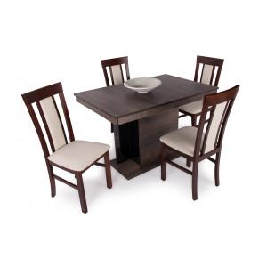 Iszap tölgy asztal - dió szék