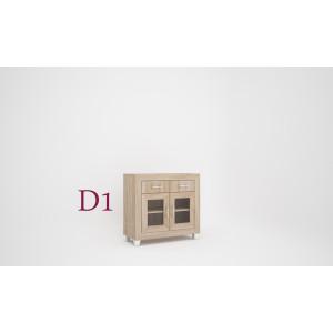 Dany tálaló komód elem 2 ajtós D1