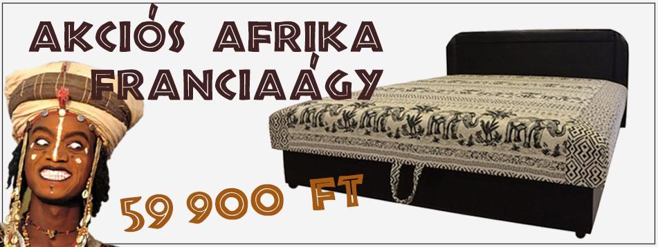 OutletBútor - Akciós Afrika franciaágy