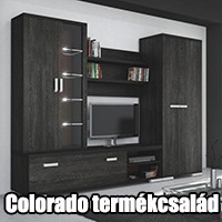 OutletBútor - Colorado elemes bútorcsalád