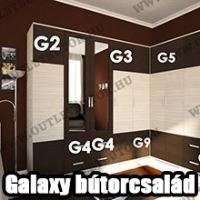OutletBútor - Galaxy elemes bútorcsalád