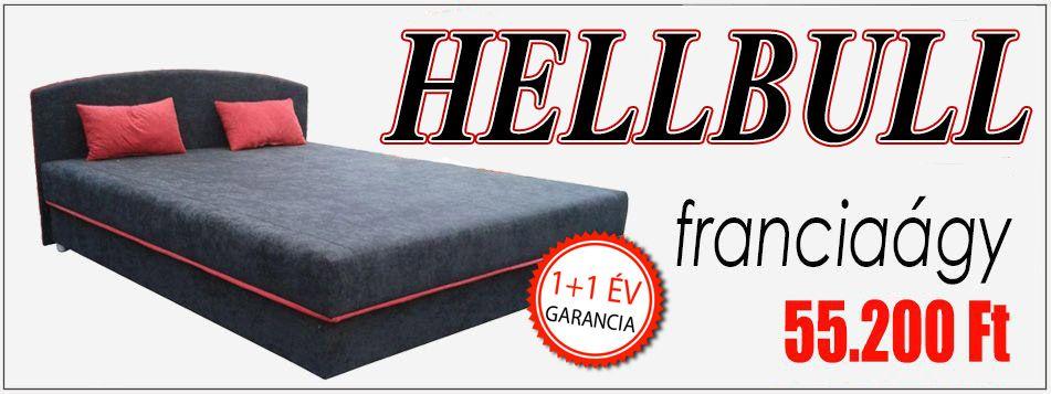 OutletBútor - Hell Bull franciaágy